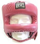 View the Cleto Reyes Rounded Bar Headguard Pearl Pink online at Fight Outlet