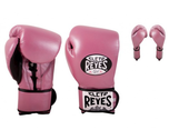 View the Universal Cleto Reyes Training Boxing Gloves Pearl Pink  online at Fight Outlet