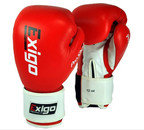 Exigo Club Pro Sparring Boxing Gloves Red