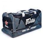 View the BAG2 Fairtex Grey Heavy Duty Gym Bag online at Fight Outlet