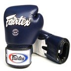 View the BGV1 Fairtex 3-Tone Blue Boxing Gloves online at Fight Outlet