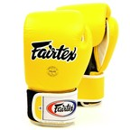 View the BGV1 Fairtex 3-Tone Yellow Boxing Gloves online at Fight Outlet