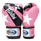 View the BGV1-N Fairtex Pink Nation Print Boxing Gloves online at Fight Outlet
