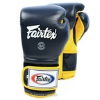 View the BGV9 Fairtex Blue-Yellow Mexican Style Boxing Gloves online at Fight Outlet
