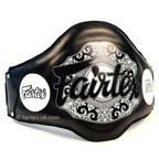 View the BPV2 Fairtex Black Light-Weight Belly Pad online at Fight Outlet