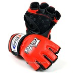 View the FGV12 Fairtex Red Ultimate MMA Gloves online at Fight Outlet