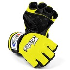 View the FGV12 Fairtex Yellow Ultimate MMA Gloves online at Fight Outlet