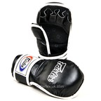 View the FGV15 Fairtex Black MMA Sparring Gloves online at Fight Outlet