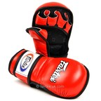 View the FGV15 Fairtex Red MMA Sparring Gloves online at Fight Outlet