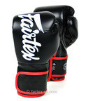 View the Fairtex BGV14 Black Junior Microfibre Boxing Gloves online at Fight Outlet
