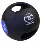 View the Fitness Mad Double Grip Medicine Ball 10KG online at Fight Outlet