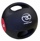 View the Fitness Mad Double Grip Medicine Ball 9KG online at Fight Outlet