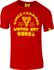 View the KRONK Thomas 'The Motor City Cobra'  Hearns Slimfit T shirt, Red online at Fight Outlet