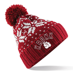 View the Kronk Bobble Ski Hat Red online at Fight Outlet