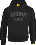 View the Kronk Detroit Hoodie Black/Charcoal online at Fight Outlet