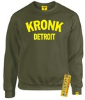 View the Kronk Detroit Sweatshirt Military Green online at Fight Outlet