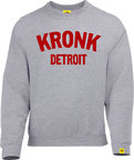 View the Kronk Detroit Sweatshirt Sport Grey online at Fight Outlet