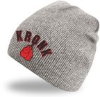 View the Kronk Gloves Beanie Hat Heather Grey online at Fight Outlet