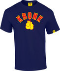 View the Kronk Gloves Tee Shirt Navy online at Fight Outlet