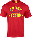 View the Kronk Boxing Training Camp Tee Red online at Fight Outlet