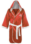 View the Lonsdale Contest Robe Red online at Fight Outlet