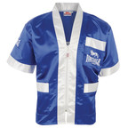 View the Lonsdale Cornerman Jacket Blue/White online at Fight Outlet