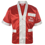 View the Lonsdale Cornerman Jacket Red/White online at Fight Outlet