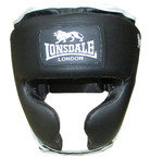View the Lonsdale Cruiser Headguard with Cheek Protection, Black  online at Fight Outlet