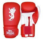 View the Lonsdale Cruiser Training Gloves, Hook and Loop, Red online at Fight Outlet