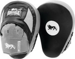 View the Lonsdale Jab Curved Hook and Jab Pads, Black/Grey **Sale** online at Fight Outlet