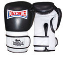 View the Lonsdale L-Core Bag Glove, Black/White online at Fight Outlet