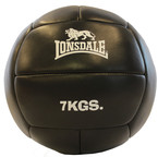 View the Lonsdale Medicine Ball, Black 7kg online at Fight Outlet