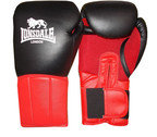 View the Lonsdale Performer Training Glove, Hook and Loop, Black/Red online at Fight Outlet