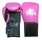 View the Lonsdale Performer Training Glove, Hook and Loop, Pink/Black online at Fight Outlet