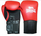 View the Lonsdale Performer Training Glove, Hook and Loop, Red/Black online at Fight Outlet