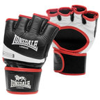 View the Lonsdale Pro MMA Fight Gloves, Black White online at Fight Outlet