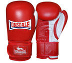 View the Lonsdale Pro Safe Spar Training Glove, Hook and Loop, Red online at Fight Outlet
