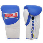 View the Lonsdale Ultimate MKII Pro Fight Boxing Glove, Blue/White online at Fight Outlet