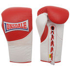 View the Lonsdale Ultimate MKII Pro Fight Boxing Glove, Red/White  online at Fight Outlet