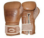 View the Lonsdale Vintage Training Glove, Vintage Brown online at Fight Outlet
