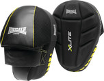 View the Lonsdale X-Lite Focus Mitts, Black Lime online at Fight Outlet