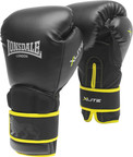 Lonsdale X-Lite Training Boxing Glove, Black/Lime