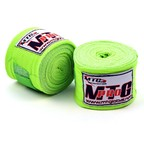 View the EHW MTG Pro 5m Lime Green Elasticated Hand Wraps online at Fight Outlet