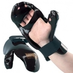 View the Macho Dyna Closed Finger Punch Black online at Fight Outlet