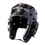 View the Macho Dyna Head Guard Black online at Fight Outlet