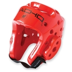 View the Macho Dyna Head Guard Red online at Fight Outlet
