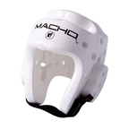 View the Macho Dyna Head Guard White  online at Fight Outlet