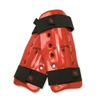 View the Macho Dyna Shin Red online at Fight Outlet