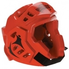 View the Macho Warrior Head Guard Red online at Fight Outlet