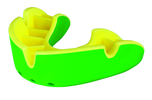 View the OPRO SILVER SELF-FIT MOUTHGUARD   GREEN/YELLOW online at Fight Outlet